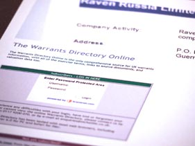 The Warrants DIrectory